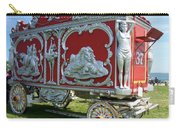 Circus Car In Red And Silver Carry-all Pouch