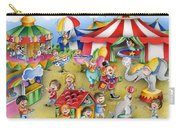 Circus In Town Carry-all Pouch
