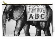 Circus: Jumbo, C1882 Carry-all Pouch