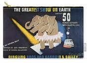 Circus Poster, 1942 Carry-all Pouch