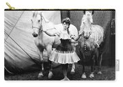 Circus: Rider, C1904 Carry-all Pouch