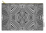 Circus Stripes Carry-all Pouch