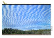 Cirrocumulus Clouds Over Mt. Mclaughlin Carry-all Pouch