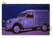 Citroen 2cv Azu 1957 Painting Carry-all Pouch