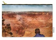 City - Arizona - Grand Canyon - The Vista Carry-all Pouch by Mike Savad