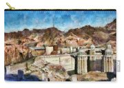 City - Nevada - Hoover Dam Carry-all Pouch