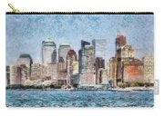 City - Ny - Manhattan Carry-all Pouch