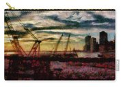 City - Ny - Overlooking The Hudson Carry-all Pouch