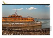 City - Ny - The Staten Island Ferry - Panorama Carry-all Pouch