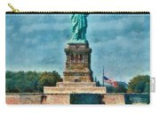 City - Ny - The Statue Of Liberty Carry-all Pouch