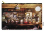 City - Ny 77 Water Street - The Candy Store Carry-all Pouch by Mike Savad
