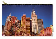 City - Vegas - Ny - The New York Hotel Carry-all Pouch