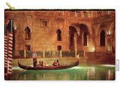 City - Vegas - Venetian - The Gondola's Of Venice Carry-all Pouch