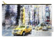 City-art Times Square Streetscene Carry-all Pouch