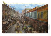 City - Baltimore Md - Traffic On Light Street - 1906 Carry-all Pouch