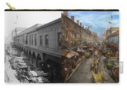City - Baltimore Md - Traffic On Light Street - 1906 - Side By Side Carry-all Pouch