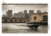 City Bay Police Boat - Color  Carry-all Pouch