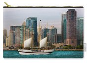 City - Chicago - Cruising In Chicago Carry-all Pouch