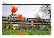 City Garden Chicago L Train Carry-all Pouch