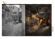 City - Germany - Alley - Coming Home Late 1904 - Side By Side Carry-all Pouch