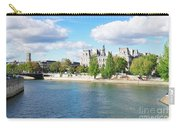Seine River Embankment Carry-all Pouch
