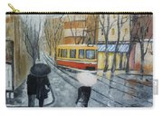 City In Rain Carry-all Pouch