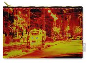 City In Red Carry-all Pouch