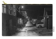 City Lane At Night Carry-all Pouch