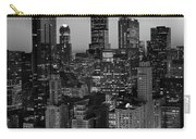 City Light Chicago B W Carry-all Pouch