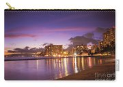 City Lights Reflections Carry-all Pouch