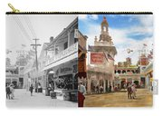 City - Ny - The Great Steeplechase 1903 - Side By Side Carry-all Pouch