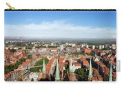 City Of Gdansk Aerial View Carry-all Pouch