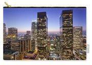 City Of Lights Carry-all Pouch by Kelley King