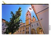 City Of Ljubljana Church And Square View Carry-all Pouch