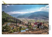 City Of Paro Carry-all Pouch