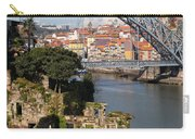 City Of Porto In Portugal Picturesque Scenery Carry-all Pouch