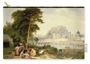 City Of Salzburg Carry-all Pouch by Philip Hutchins Rogers