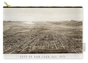 City Of San Jose County Of Santa Clara 1875 Carry-all Pouch