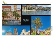 City Of Split Nature And Architecture Collage Carry-all Pouch