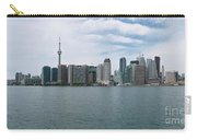 City Of Toronto Panorama Carry-all Pouch