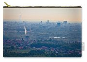 City Of Zagreb Panoramic Aerial View Carry-all Pouch