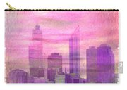 City On Night View Carry-all Pouch