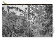 City Park Lagoon - Bw Carry-all Pouch