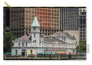 City Pier A And Pier A Harbor House In New York City Carry-all Pouch