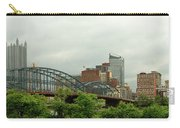 City - Pittsburgh Pa - The Grand City Of Pittsburg Carry-all Pouch