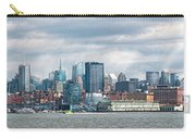 City - Skyline - Hoboken Nj - The Ever Changing Skyline Carry-all Pouch