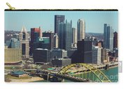City Skyline-pittsburg Carry-all Pouch