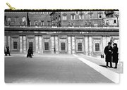 City Square Vintage Black And White  Carry-all Pouch