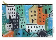 City Stories- Blue And Orange Carry-all Pouch