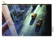 City Street Aerial New York Carry-all Pouch